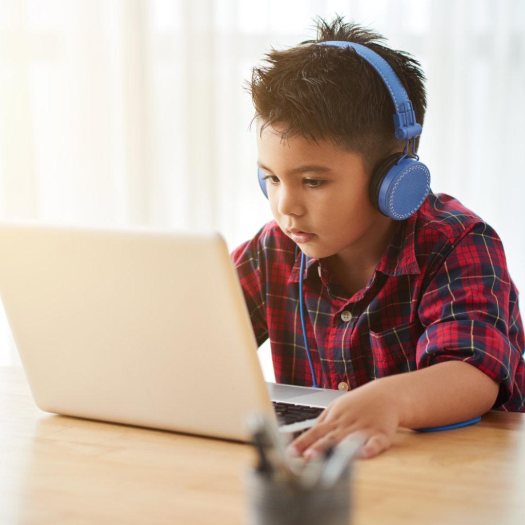 Online tutoring at home